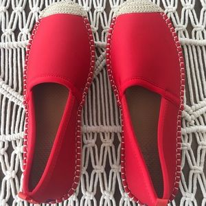 Brand New Red Sea Star Espadrille Water Shoes